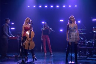 """Clean Bandit & Zara Larsson Perform """"Symphony"""" On 'The Tonight Show': Watch"""