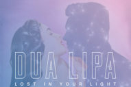 "Dua Lipa & Miguel's Starry Duet ""Lost In Your Light"""