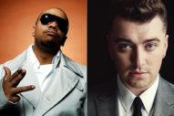 Collaboration? Sam Smith Hits The Studio With Timbaland