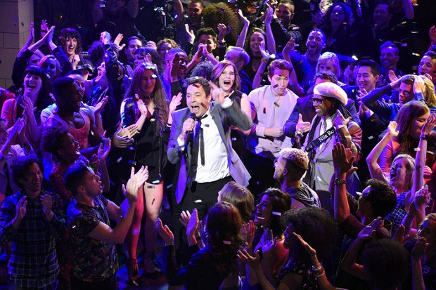 Jimmy Fallon Nile Rodgers Harry Styles David Bowie Tribute