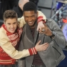 Justin Bieber Usher Performing On The Today Show
