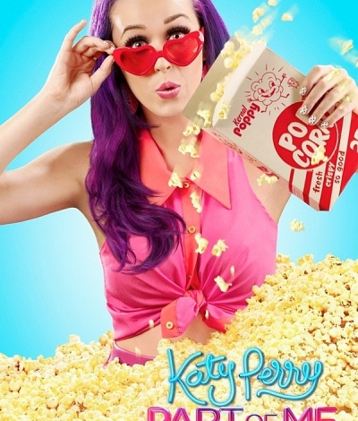 Katy Perry Part Of Me popcorn movie poster main