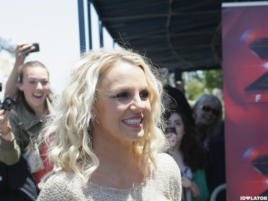 Britney Spears: 'The X Factor' Oakland Auditions
