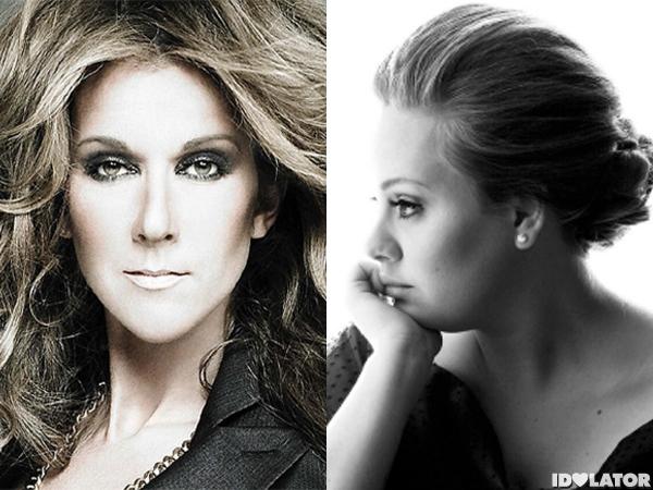 Celine Dion Adele