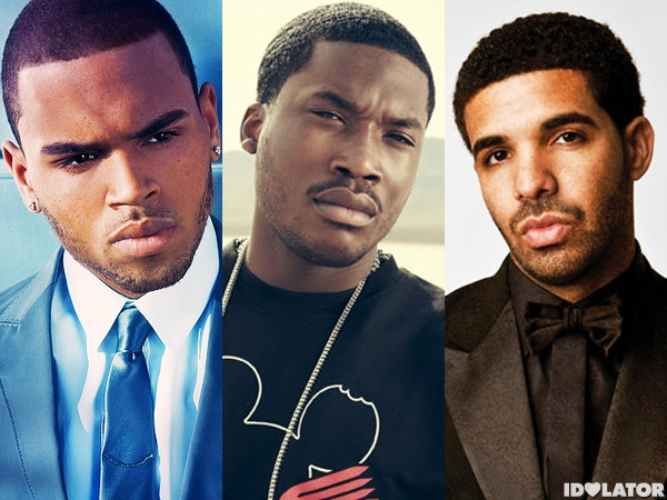 drake meek mill chris brown