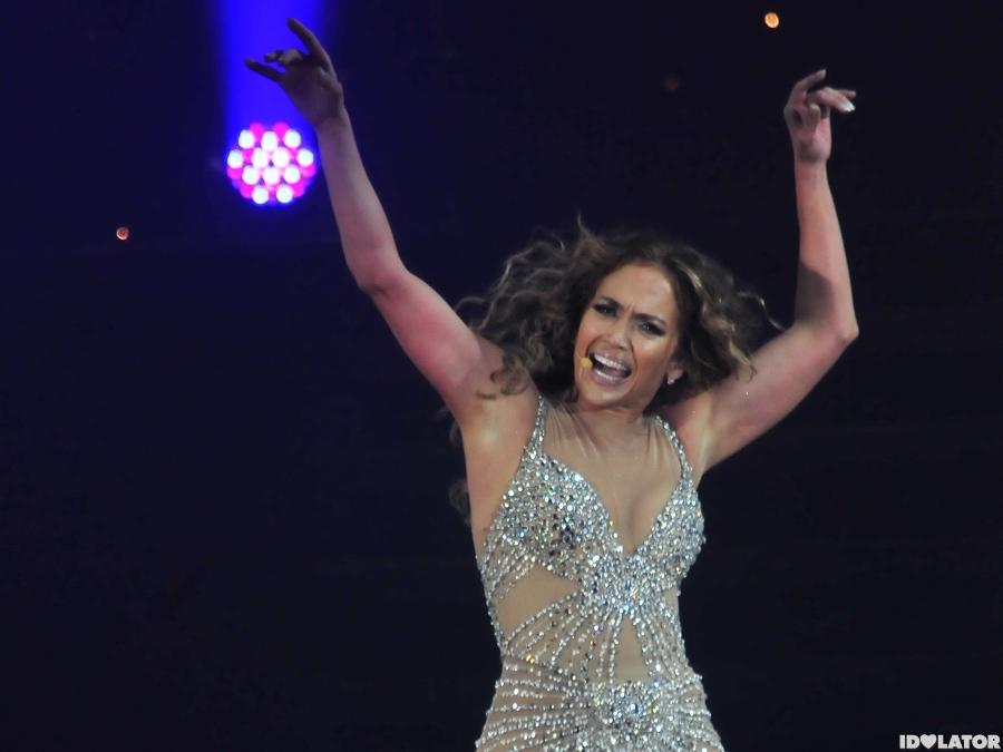 Jennifer Lopez Performs In Panama City
