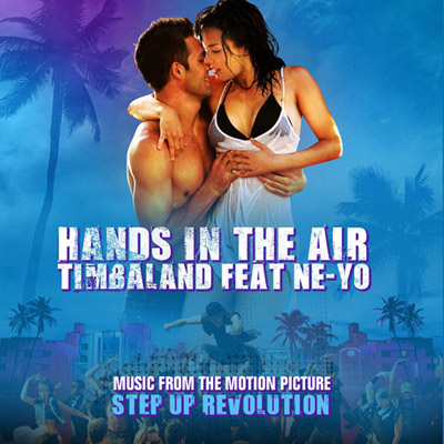 timbaland hands-in-the-air